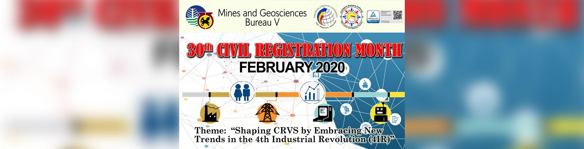 Civil Registration Month